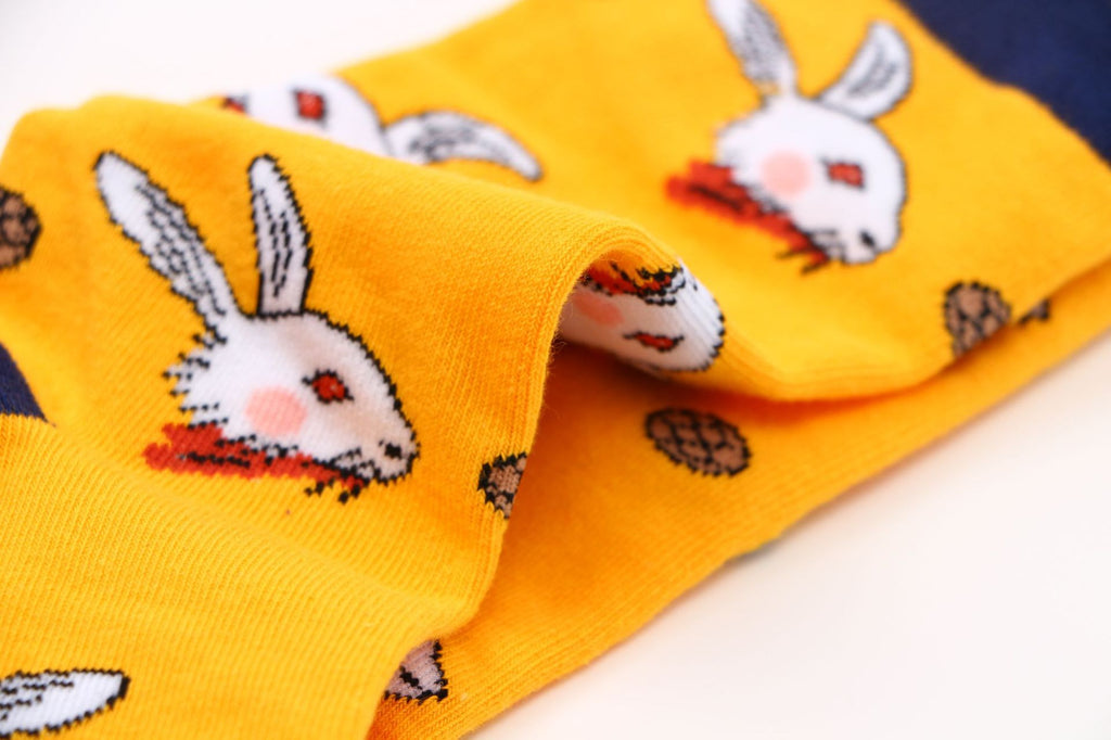 Rabbit Socks - The Yellow Sock
