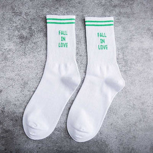 Fall In Love Socks - The Yellow Sock