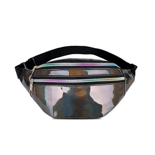 holographic fanny pack - The Yellow Sock