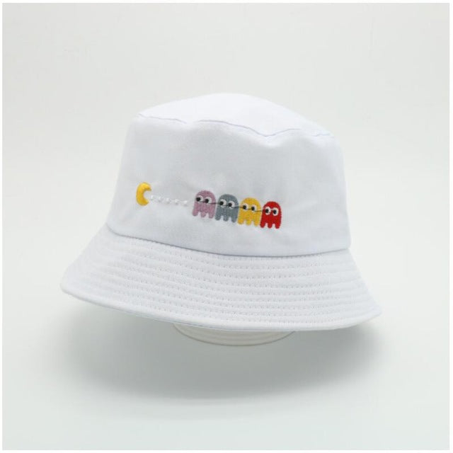 pacman bucket hat - The Yellow Sock