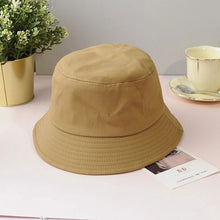 Load image into Gallery viewer, plain bucket hat - The Yellow Sock