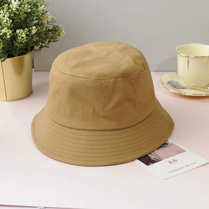plain bucket hat - The Yellow Sock