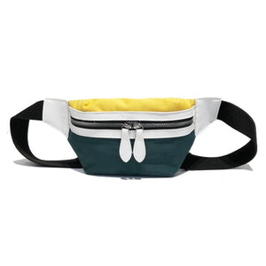 two-colour fanny pack - The Yellow Sock