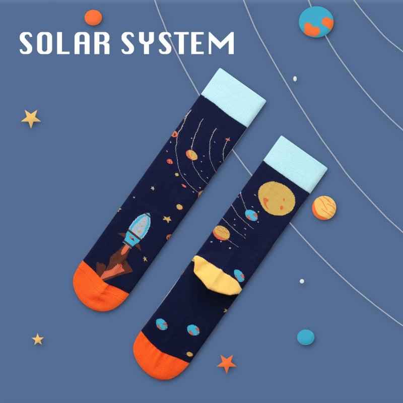 Solar System Socks - The Yellow Sock