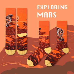 Mars Socks - The Yellow Sock