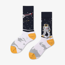 Load image into Gallery viewer, Spacewalk Socks - The Yellow Sock