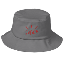 Load image into Gallery viewer, RAGER BUCKET HAT [GREY]