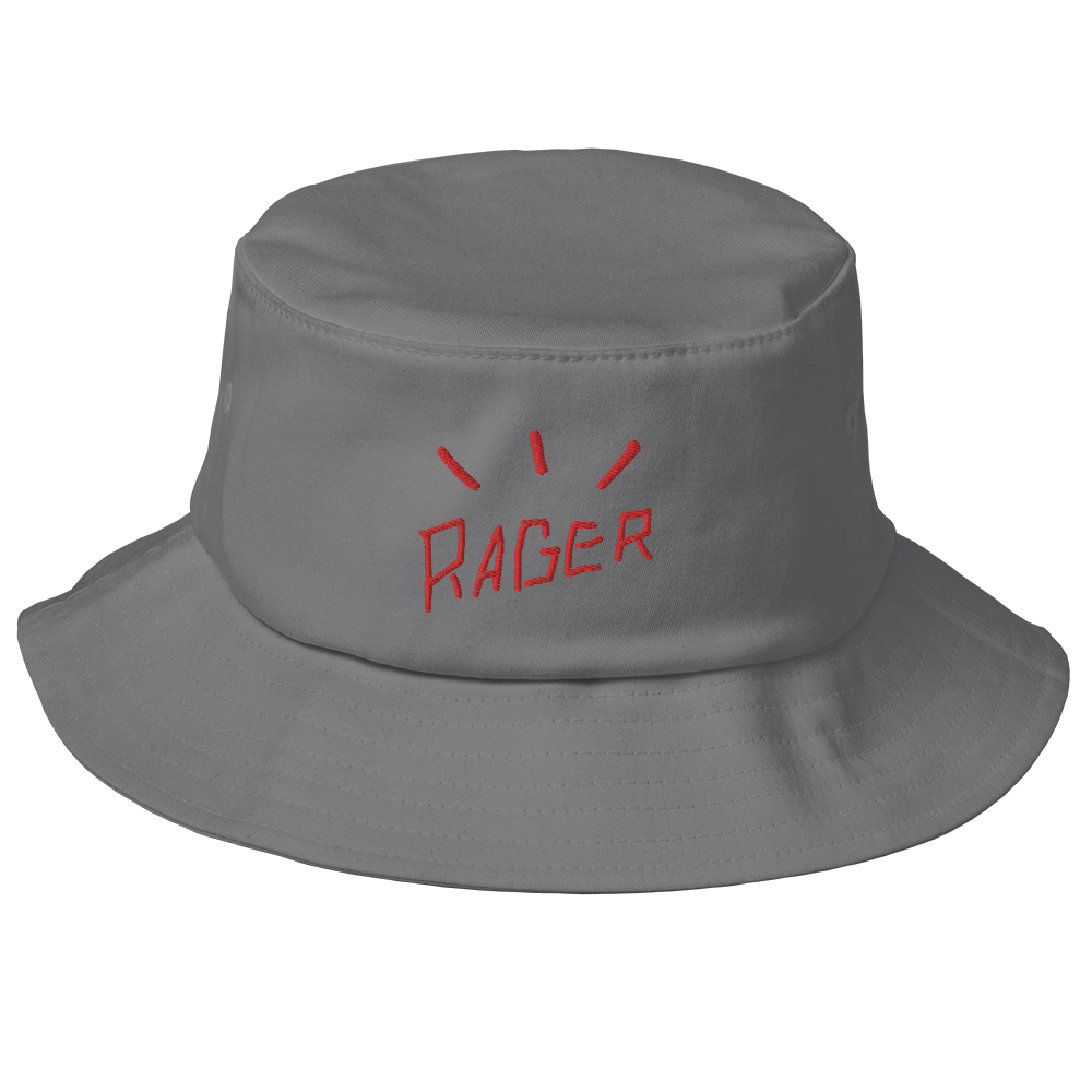 RAGER BUCKET HAT [GREY]