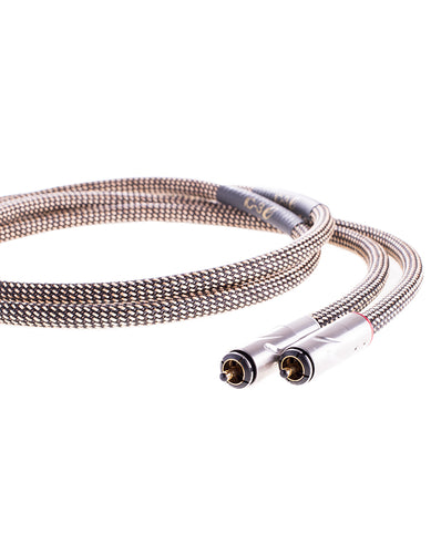 AAC IC-3 e Cryo Interconnect Cable Pair Gold RCA