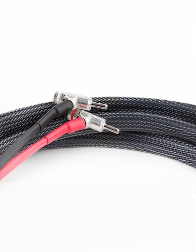 AAC SC-5SE Double Bi-wire Speaker Cable Pair Rhodium Banana
