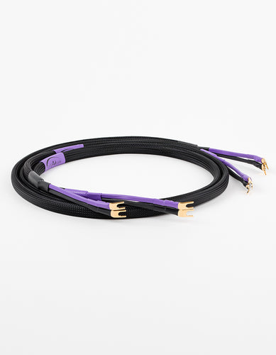 AAC SC-5SE Speaker Cable Pair Gold Spade