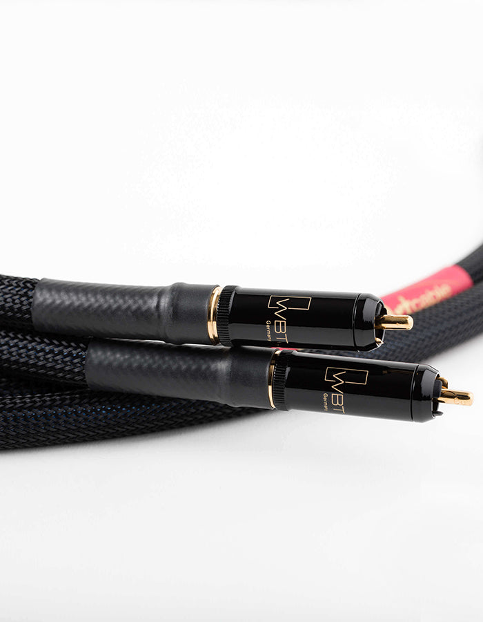 AAC Statement e IC Cryo Interconnect Cable Pair Gold RCA