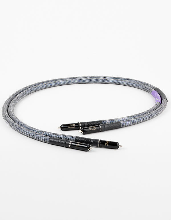 AAC Statement e IC Cryo Interconnect Cable Pair Silver RCA