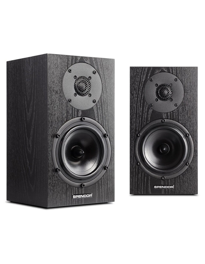 Spendor A1W Loudspeaker - Black Oak