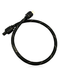 AAC power1 e Cryo AC Cable with Gold Aussie Male, 15A IEC