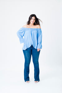 Blusa Off-Shoulder Claudia
