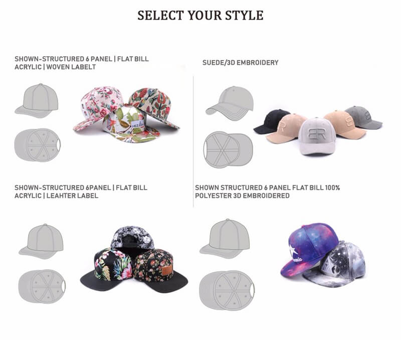 Guide to Hat Styles and Materials – sheinup bc55d2a9585