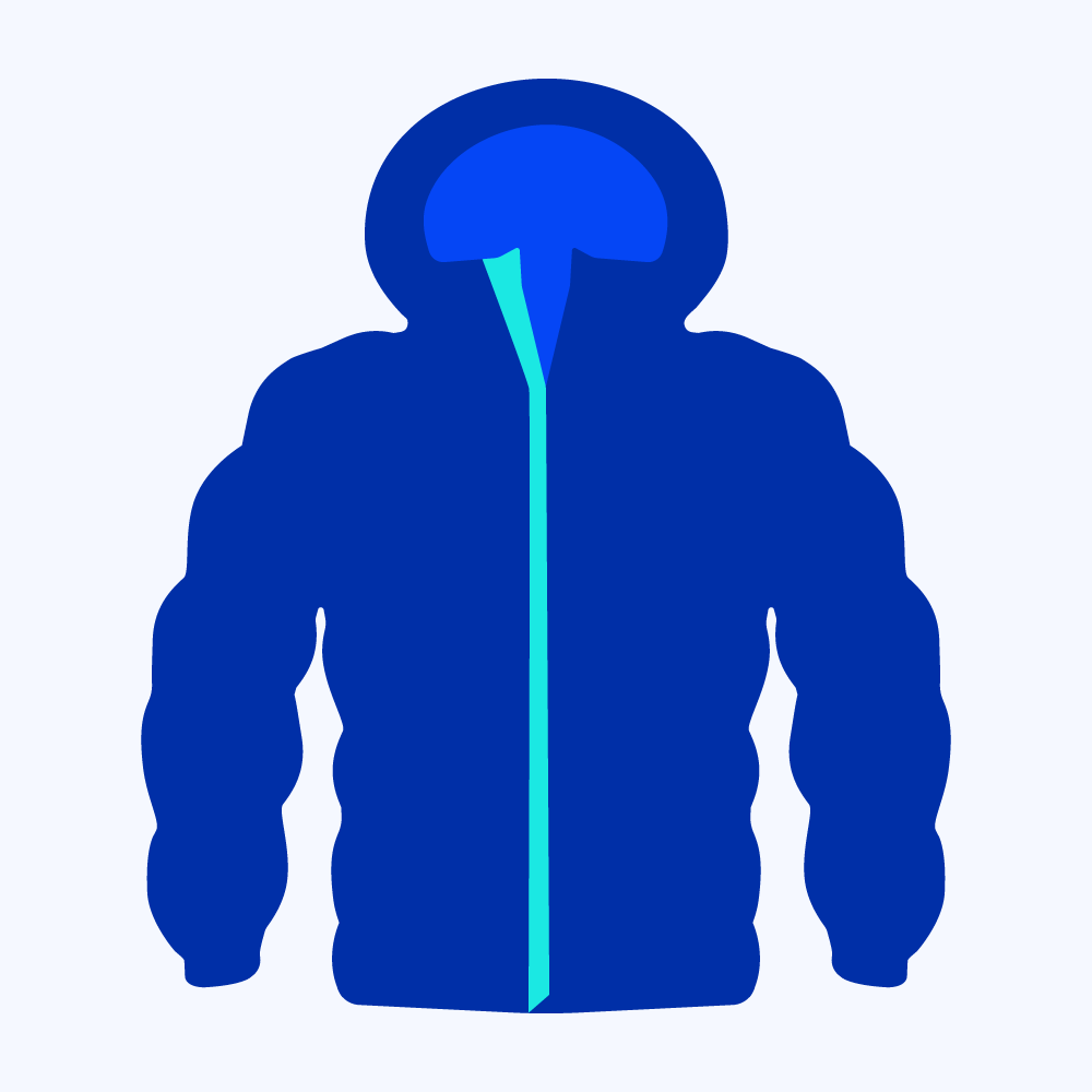 Gear Washers Down Jacket Product Icon