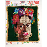 Frida Kahlo Crochet Canvas - Cthulhu Cat Cult