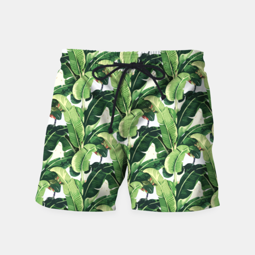 Banana leaves pattern Shorts