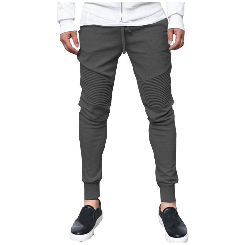 Autumn Spring Mens Fitness Sweatpants