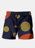 Orange Yellow Vector Shorts