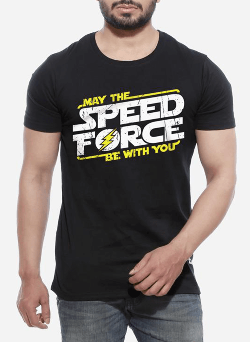Speed Force Half Sleeves Men's T-shirt