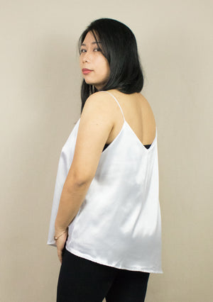 'LAURA'  ASYMMETRICAL CAMISOLE ( 3 COLOURS )