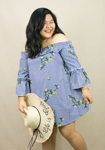 'DAISY' OFF-SHOULDER DRESS