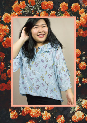 'Joyce' Floral Blouse (2 Colours)