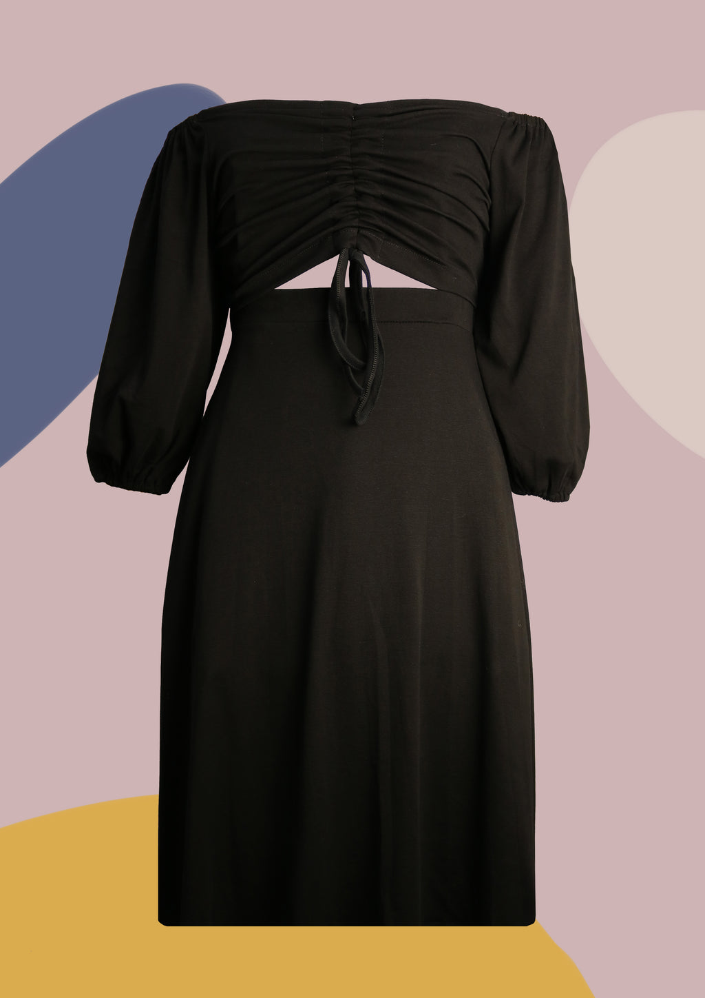 ' Gemma ' Black Dress