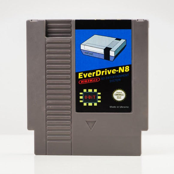 Everdrive N8 NES (Grey) - gamesconnection.ca