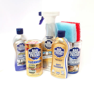 Bar Keepers Friend 5 Piece Spring Cleaning Kit