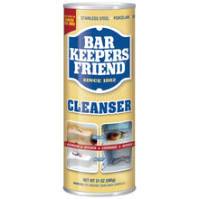 Load image into Gallery viewer, Bar Keepers Friend Cleanser 595g