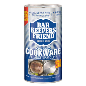 Bar Keepers Friend Cookware Cleanser and Polish 340g