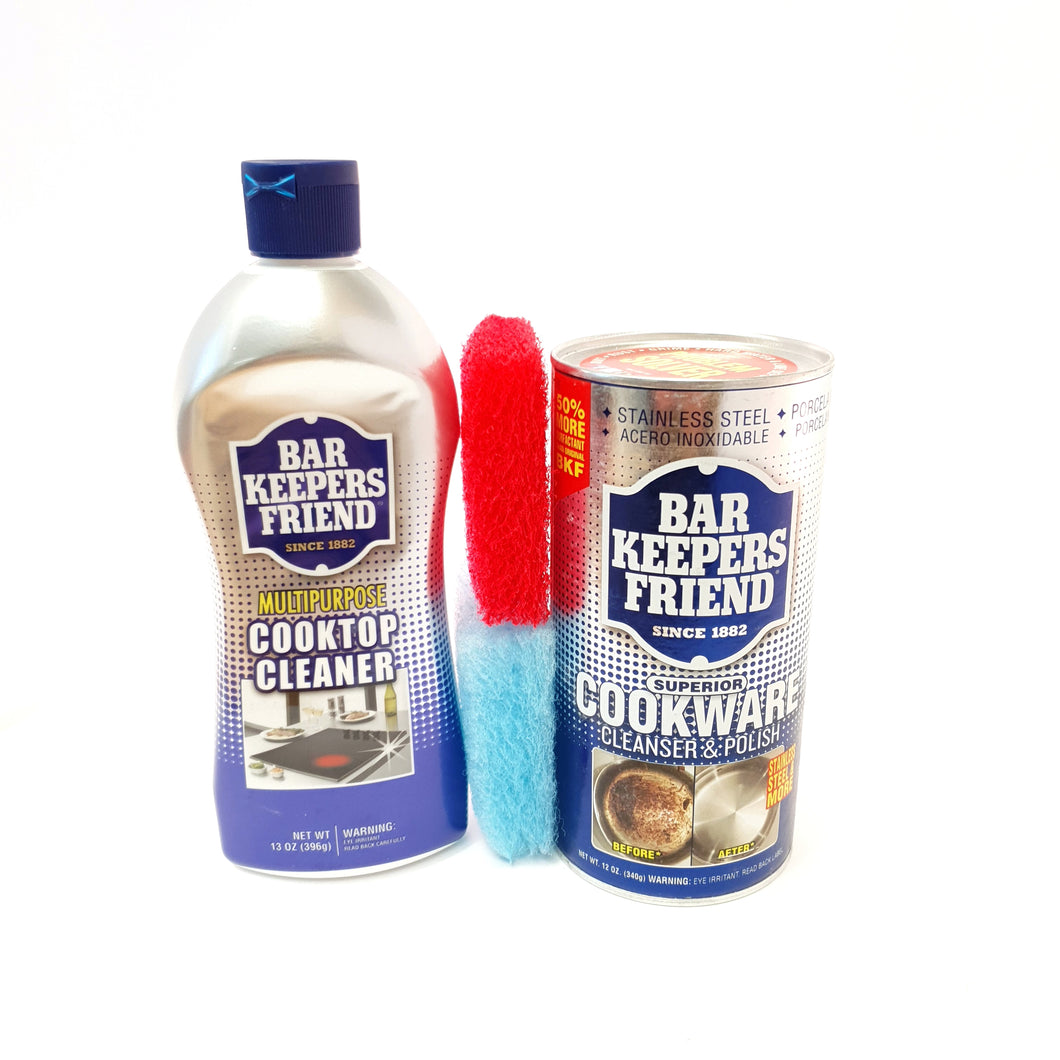 Bar Keepers Friend Kitchen Duo