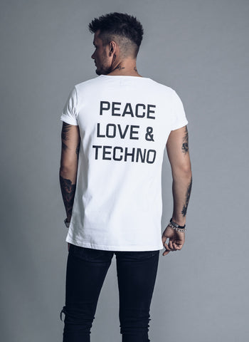 Who The F*uck is Charlie? - Black T-shirt - We Love Techno