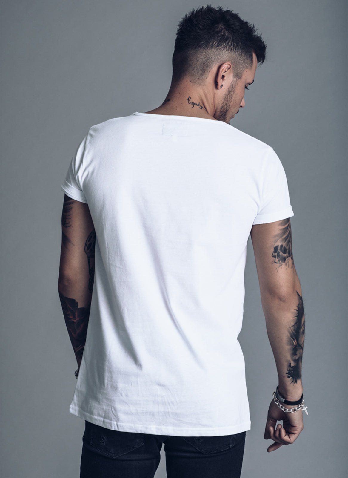 We Love Techno Logo - White T-shirt - We Love Techno