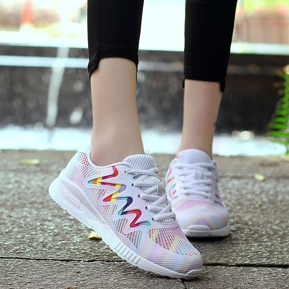 Chic Summer Colorful Breathable Sneakers
