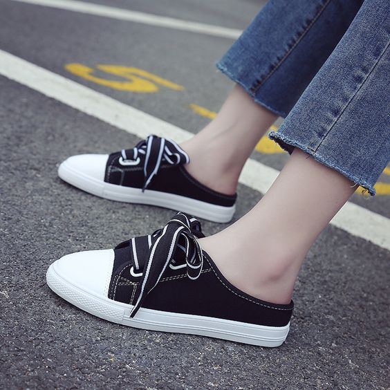 Trendy Summer Style Canvas Shoes