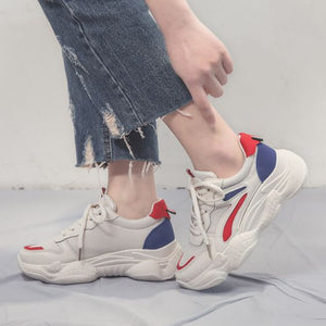 New Arrival Color Block Breathable Sneaker Shoes - Abershoes