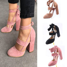 Load image into Gallery viewer, Trendy Pure Color High Heel Pumps - Abershoes