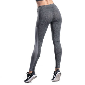 Multi- color Side Pocket Gym Leggings - Abershoes