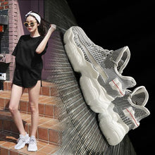 Load image into Gallery viewer, Trendy Breathable FlyKnit Dad Sneaker Shoes - Abershoes