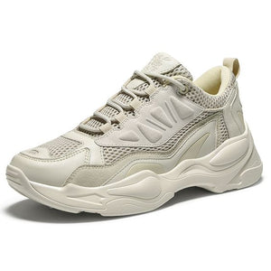 Men's Trendy Color Block Dad Sneaker Shoes - Abershoes