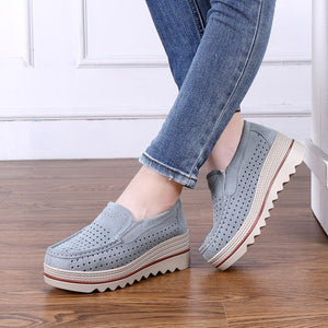 2019 Summer Trendy Hollow Out Platform Shoes - Abershoes