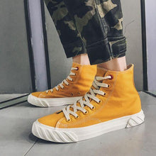 Load image into Gallery viewer, Men's Stylish High Top Hip Hop Canvas Shoes - Abershoes