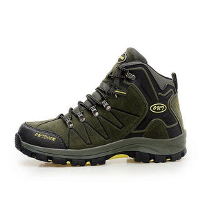 High Top Non- slip Outdoor Hiking Shoes - Abershoes