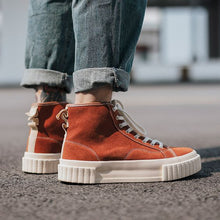 Load image into Gallery viewer, Couples Trendy High Top Leather Shoes - Abershoes