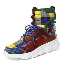 Load image into Gallery viewer, High Top Platform Sneaker Shoes - Abershoes